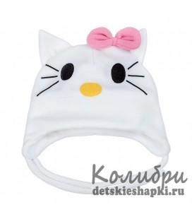 """Шапочка """"Hello Kitty"""" утепленная"""