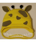 "Детская шапка ""Жирафик"""